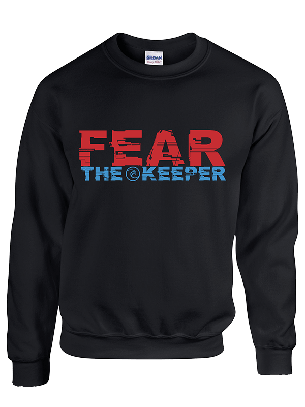 Fear the Keeper Sweatshirt - Fingersave Goalkeeper Gloves West Coast Goalkeeping