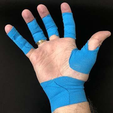 Kinesiology Tape - Fingersave Goalkeeper Gloves West Coast Goalkeeping