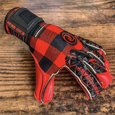 Quantum EXO Lumberjack - Fingersave Goalkeeper Gloves West Coast Goalkeeping