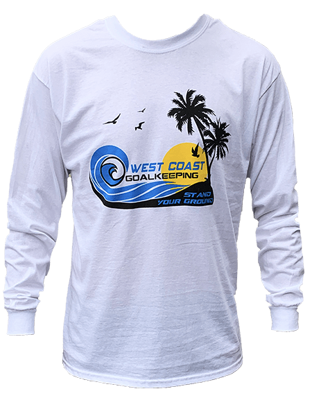Sun & Surf Long Sleeve T-Shirt - Fingersave Goalkeeper Gloves West Coast Goalkeeping