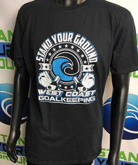 West Coast Rival T-Shirt - Fingersave Goalkeeper Gloves West Coast Goalkeeping