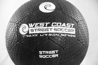 Street Soccer Urban Traxx Ball - Fingersave Goalkeeper Gloves West Coast Goalkeeping