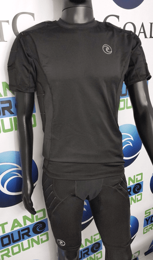 Padded Compression Short Sleeve Shirt - Fingersave Goalkeeper Gloves West Coast Goalkeeping