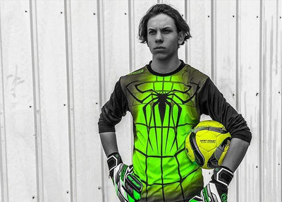 Spyder Jersey Long Sleeve - Fingersave Goalkeeper Gloves West Coast Goalkeeping