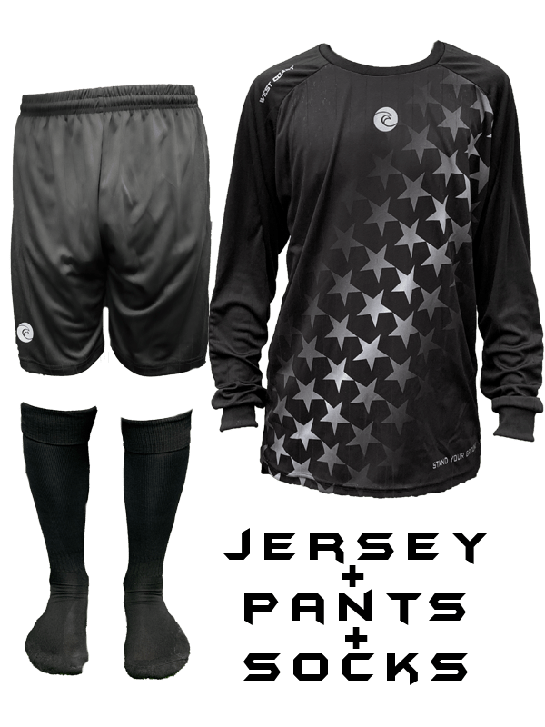FREEDOM Titan Goalkeeper Kit - Fingersave Goalkeeper Gloves West Coast Goalkeeping