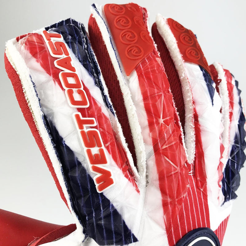 EXO-SKIN Union Jack - Fingersave Goalkeeper Gloves West Coast Goalkeeping