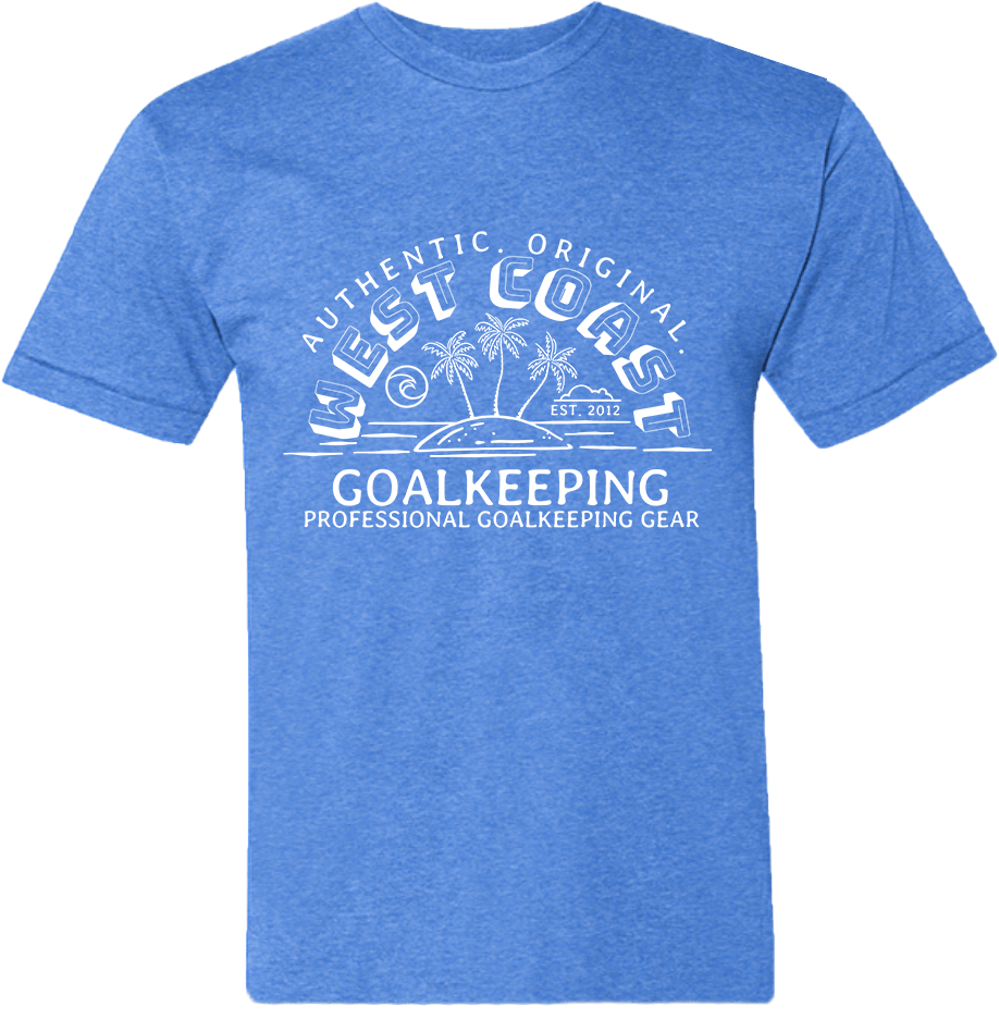 Island Sun T-Shirt - Fingersave Goalkeeper Gloves West Coast Goalkeeping