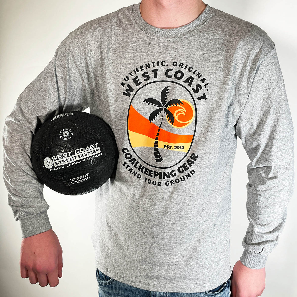 Long Sleeve Authentic T-Shirt - West Coast Goalkeeping
