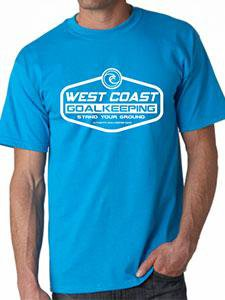 West Coast Club T-Shirt - West Coast Goalkeeping