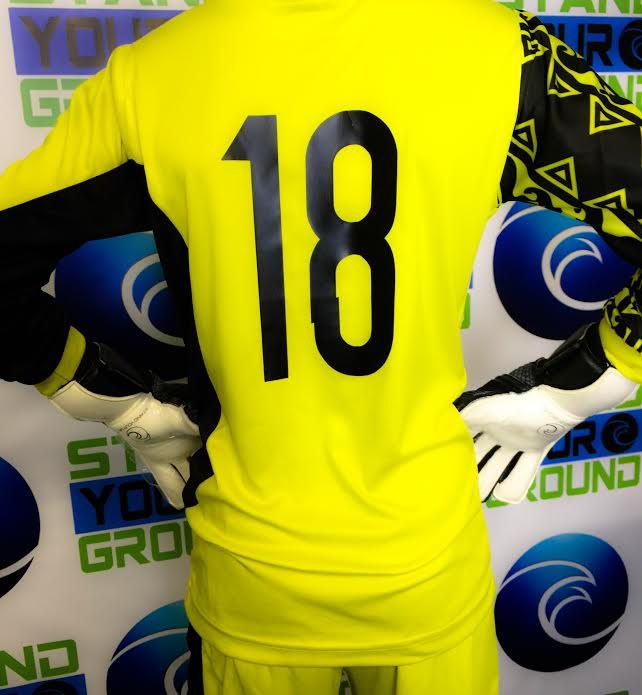 Clothing Personalization - West Coast Goalkeeping