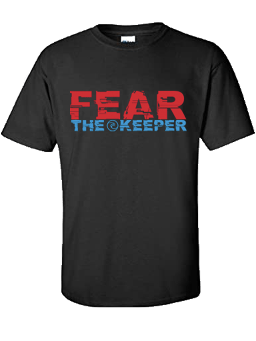 Fear the Keeper T-Shirt - Fingersave Goalkeeper Gloves West Coast Goalkeeping