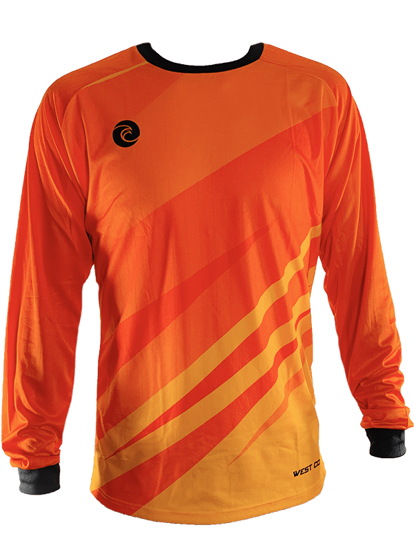 Citrus Club Jersey - Fingersave Goalkeeper Gloves West Coast Goalkeeping