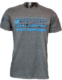 West Coast Pro T-Shirt - Fingersave Goalkeeper Gloves West Coast Goalkeeping