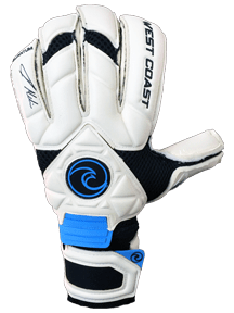 Quantum: Melia Pro Edition - Fingersave Goalkeeper Gloves West Coast Goalkeeping