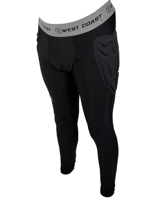 Padded BaseLayer Long Pants - West Coast Goalkeeping