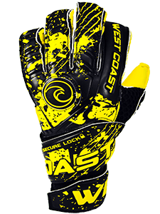 FUSION Secure Lock - Fingersave Goalkeeper Gloves West Coast Goalkeeping