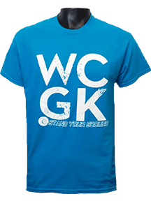 WCGK T-Shirt - Fingersave Goalkeeper Gloves West Coast Goalkeeping