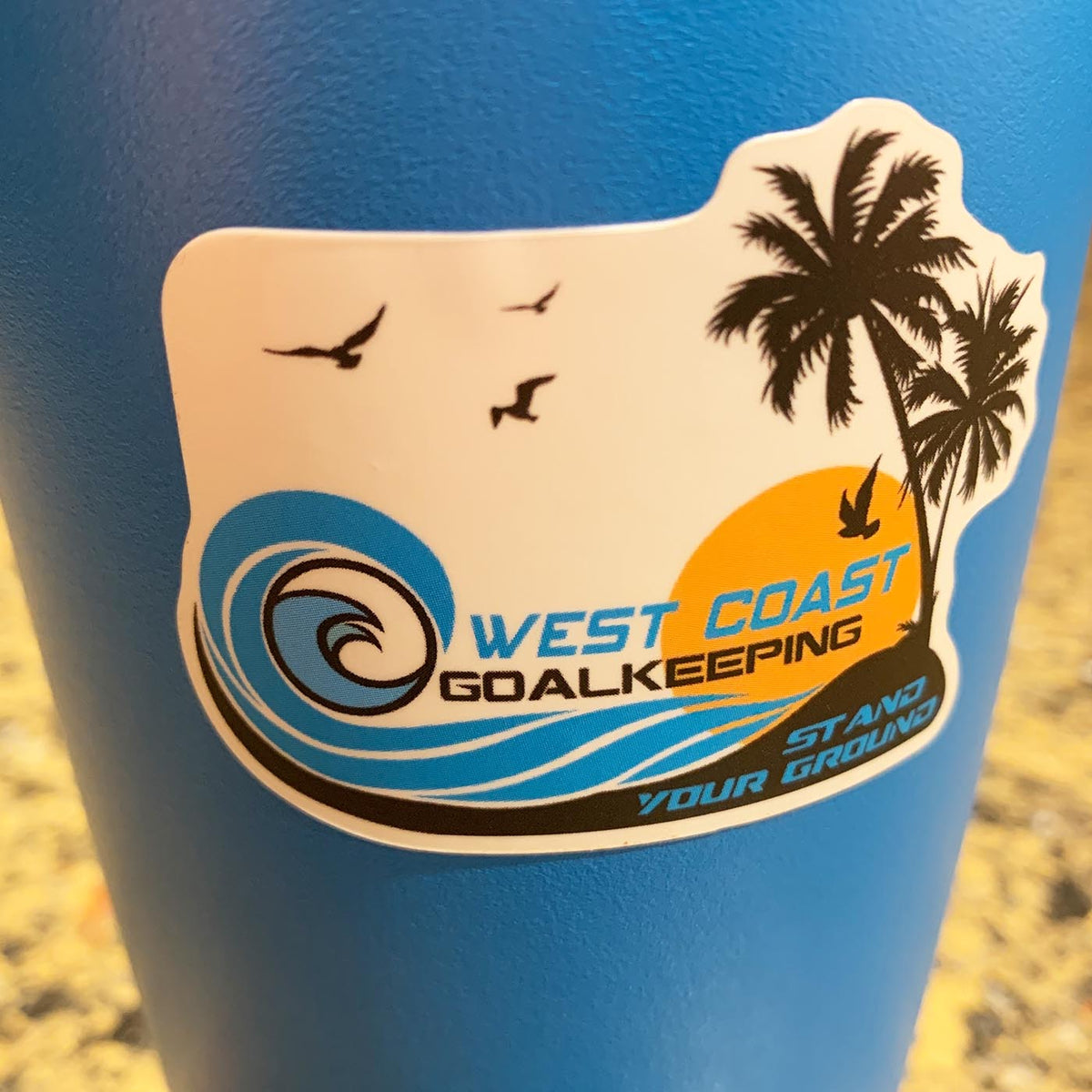 Sticker Sheet - West Coast Goalkeeping