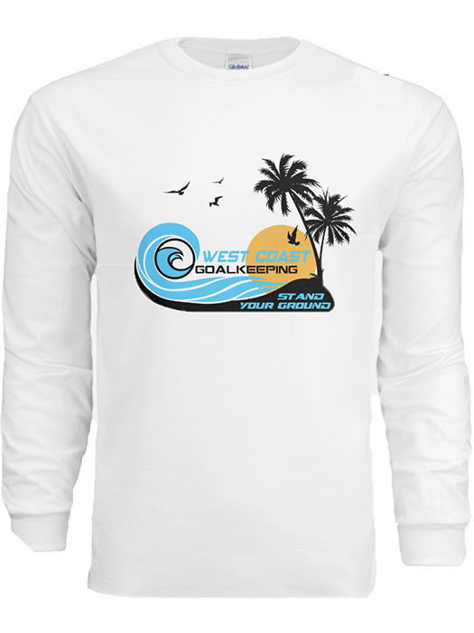 Sun & Surf Long Sleeve T-Shirt - West Coast Goalkeeping