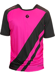 Pink Newport Short Sleeve Jersey - Fingersave Goalkeeper Gloves West Coast Goalkeeping
