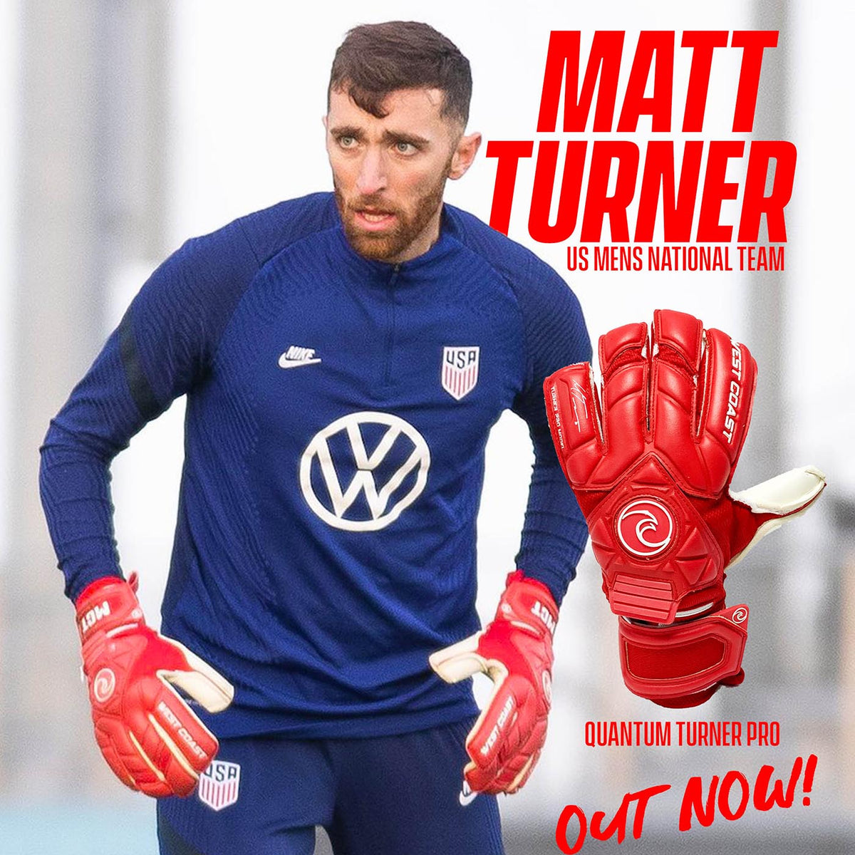 QUANTUM Turner Pro Model - West Coast Goalkeeping