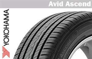 YOKOHAMA AVID ASCEND 235/55R18 100H SUMMER TIRE