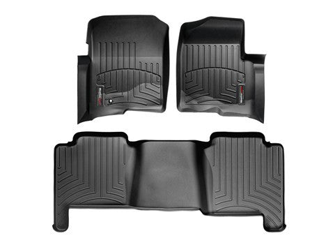 WEATHERTECH FLOOR MATS (DIGIFIT) - FORD F150 04-08