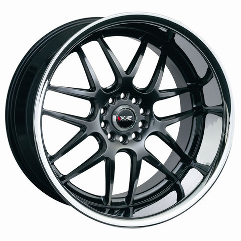 XXR 526 WHEEL - CHROMIUM BLACK W/ POLISHED LIP 18''