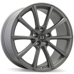 BRAELIN BR09 WHEEL - SATIN CHARCOAL 19x8.5 ET45