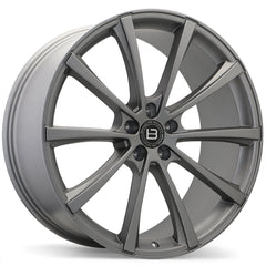 BRAELIN BR09 WHEEL - SATIN CHARCOAL 22x10 ET45