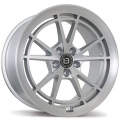BRAELIN BR11 WHEEL - SATIN SILVER W/ MACHINED FACE 19x10 ET35