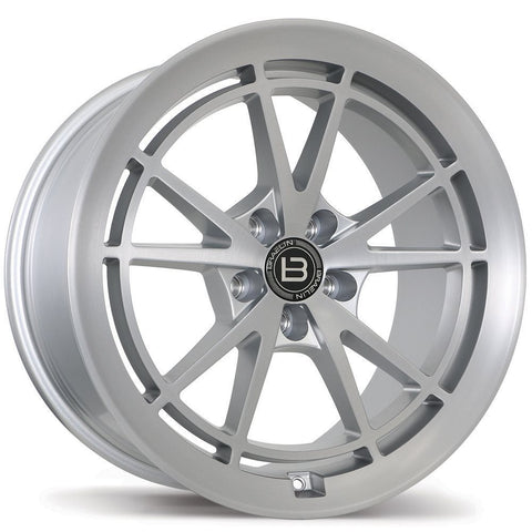BRAELIN BR11 WHEEL - SATIN SILVER W/ MACHINED FACE 19x10 ET25