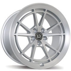 BRAELIN BR11 WHEEL - SATIN SILVER W/ MACHINED FACE 19x11 ET35