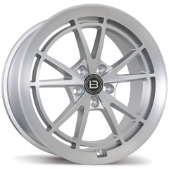 BRAELIN BR11 WHEEL - SATIN SILVER W/ MACHINED FACE 19x9 ET35