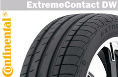 CONTINENTAL EXTREMECONTACT DW 215/45R17 91W XL SUMMER TIRE