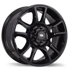 FAST HD SERIES HOLLOWPOINT F183 WHEEL - GLOSS BLACK 16''