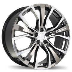 FAST ULTIMATE F192 WHEEL - VAPOUR CHROME W/ MACHINED FACE 20''