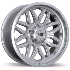 FAST HD SERIES RIGG F204 WHEEL - SILVER 18''