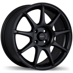 FAST ORBIT F207 WHEEL - MATTE BLACK 17''