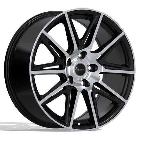 FAST SWITCH F212 WHEEL - MATTE BLACK W/ MACHINED FACE 17''