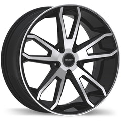 FAST FALCON F214 WHEEL - GLOSS BLACK W/ MACHINED FACE 20''