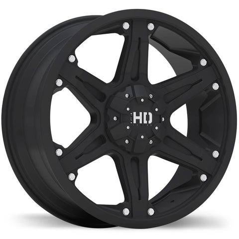 FAST HD SERIES INVASION F215 WHEEL - MATTE BLACK 20''