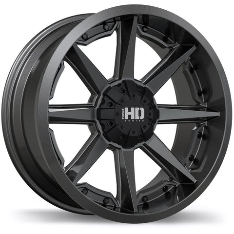 FAST HD SERIES GRINDER F216 WHEEL - ANTHRACITE 18''