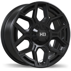 FAST HD SERIES THUNDER F224 WHEEL - MATTE BLACK 17''