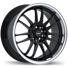 FAST SHIBUYA F231 WHEEL - GLOSS BLACK W/ MACHINED LIP 17''