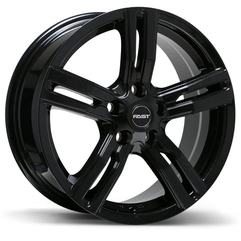 FAST BULLSEYE F233 WHEEL - METALLIC BLACK 17''