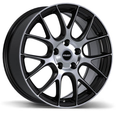 FAST KAIZEN F244N WHEEL - MATTE BLACK W/ MACHINED FACE 16''