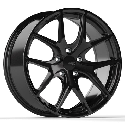 FAST COMPETITION FC04 WHEEL - METALLIC BLACK 17''
