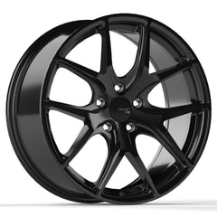 FAST COMPETITION FC04 WHEEL - METALLIC BLACK 19''