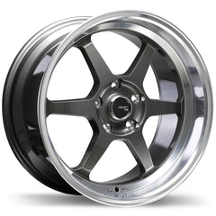 FAST COMPETITION FC06 WHEEL - GUNMETAL W/ MACHINED LIP 18''